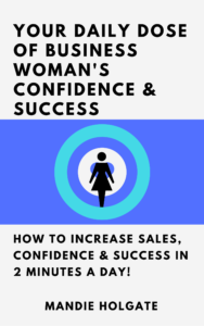 Mandie Holgate Book Daily Dose of confidence and success