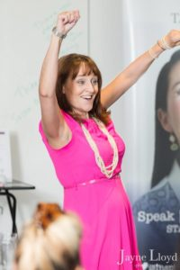 Mandie Holgate shows her passion for success and her book